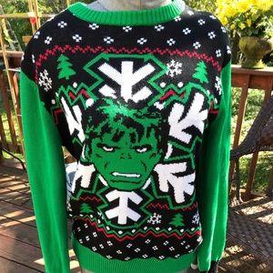 Marvel comics Incredible Hulk sweater! Nwts-Sz S